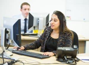 Europa Telesales Manager, Sonal Patel