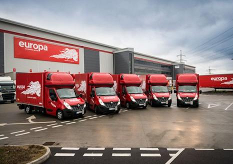 Europa road - Dedicated express van services