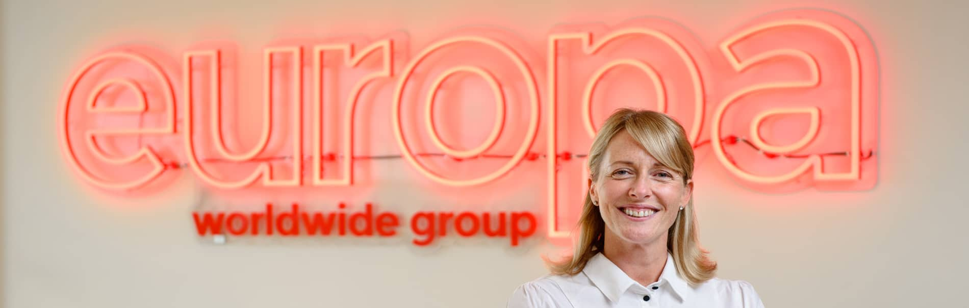 Dionne Redpath, Branch Network and Sales Director for Europa Road