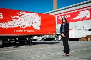 Maria torrent, Logistics Director at Europas Head Office in dartford