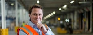 Andrew Baxter, Managing Director at our 1hub site in Dartford Worldwide Group