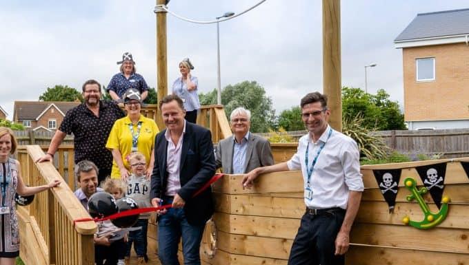 Europa Raises the Flag for New Children's Hospital Playground
