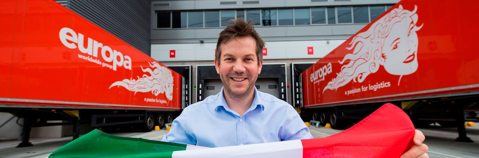 Dan Cook, Operations Director for Europa Worldwide Group