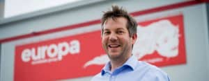 Dan Cook Operations Director for Europa Road Division