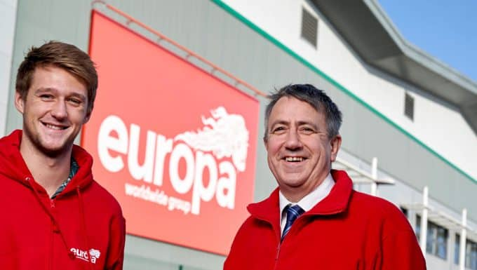 New recruit Jack Baxter joins Europa Showfreight