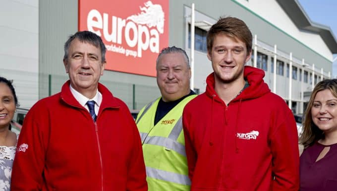 Europa Showfreight is celebrating a record year