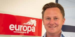 Andrew Baxter Managing Director from Europa Worldwide Group