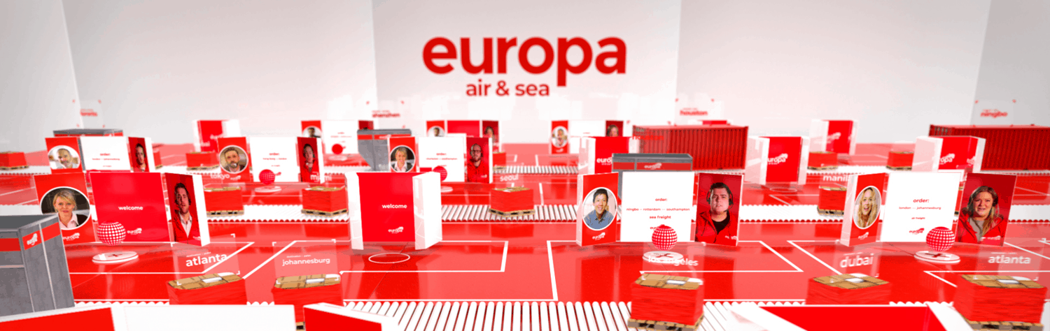 Europa Air and Sea New animation