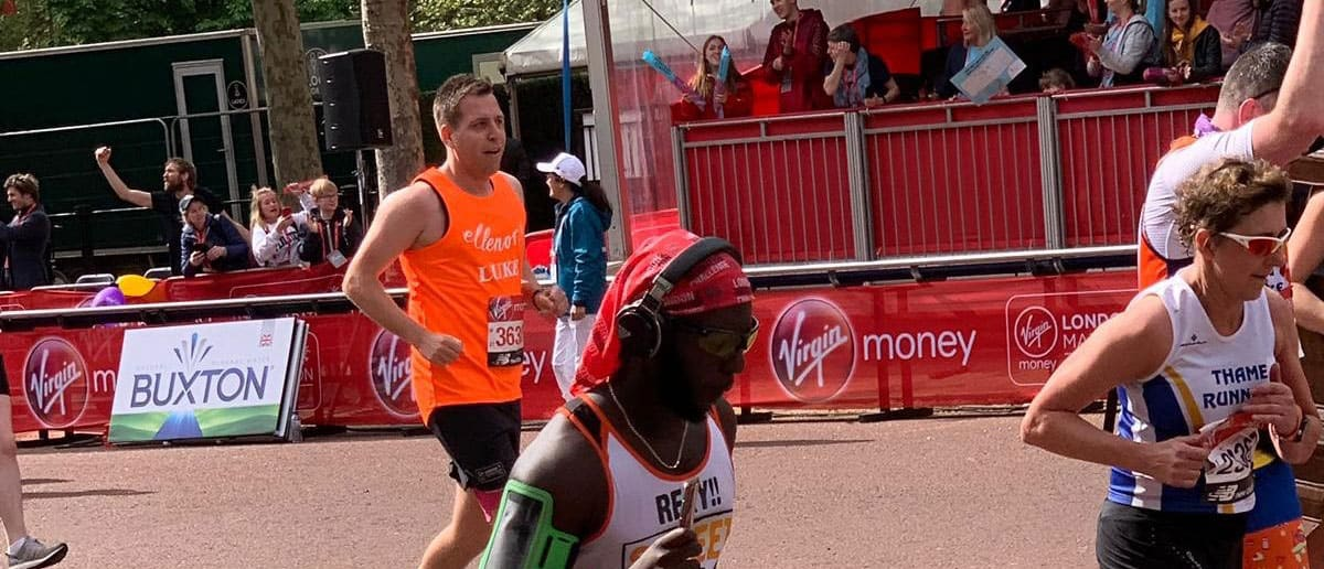 London Marathan success for Luke Cole Europa Road