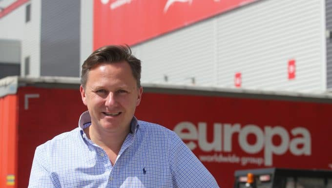 Europa Worldwide Group sets pace for logistics sector as turnover soars