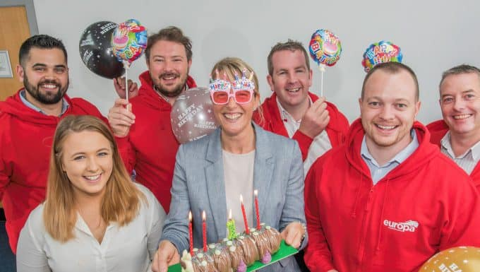 One year on – Europa's Belfast branch recognises achievements