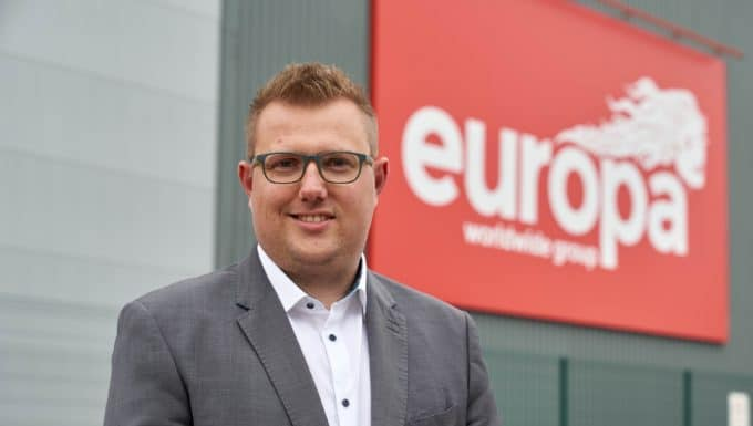 Europa Seafreight set for waves of success following new appointment