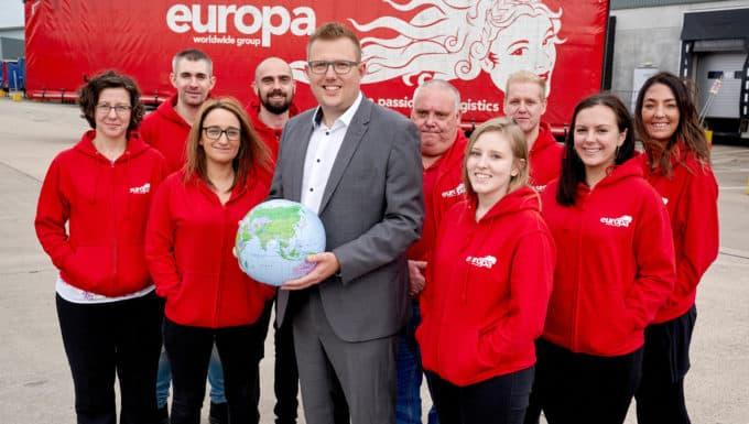 Europa Seafreight seas huge success