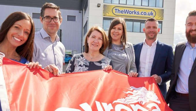 The Works and Europa Sign on the Dotted Line