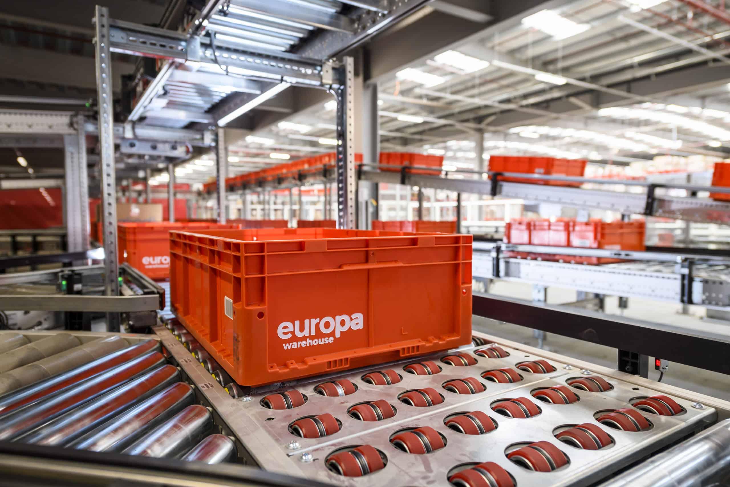 Europa Warehouse Automation